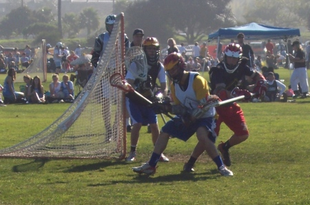 Lacrosse action photo