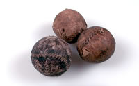 ancient lacrosse balls