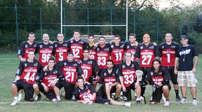 Belgrade Zombies competitive team photo
