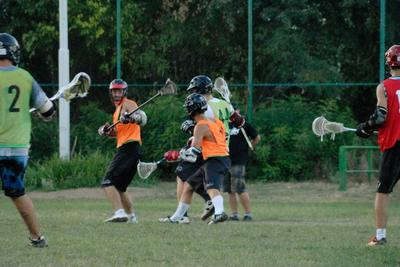 Belgrade Zombies practice scrimmage photo