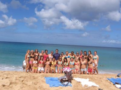 UCSB WLAX in Hawaii