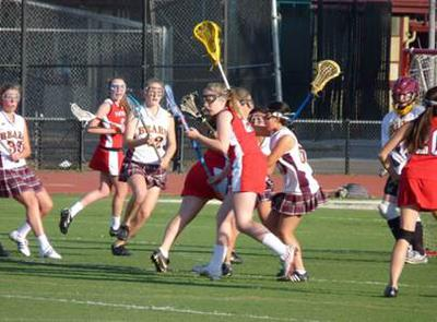 Menlo-Atherton High School Girls Lacrosse Team Rocks!